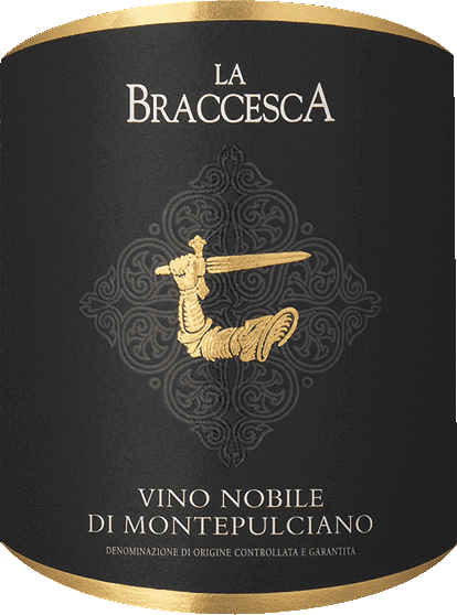 The Vino Nobile di Montepulciano by Tenuta La Braccesca impresses with its intense ruby red colour. Notes of red currant and blackberry, violet and vanilla notes and spicy aromas characterize the bouquet. On the palate, full, round and sweet tannins, with intense berry flavors and elegant spice, dense and structured, very elegant, soft and balanced. The finale is long, with a fine mineral note in the long reverberation. Vinification of the Vino Nobile di Montepulciano of La Braccesca For this classic Vino Nobile, 90% Sangiovese grosso, also called Prugnolo gentile in this area, and 10% Merlot are vinified. The Sangiovese gives the wines elegance and aromas, the Merlot freshness, good drinkability and aroma. The grape harvest for the Sangiovese grapes takes place at the beginning of October, the Merlot ripens a little earlier. After manual harvesting, the grapes are macerated for about ten days, then the wine is placed in oak barrels of different sizes in which malolactic fermentation takes place, followed by ageing for 12 months. After bottling, the Vino Nobile matures for another year on the bottle before being sold. Food recommendations for La Braccesca Vino Nobile di Montepulciano DOCG A classic of its kind, this Red Vino Nobile, which goes perfectly with typical Tuscan dishes, with spicy vegetable dishes and stews made from lamb, beef or game meat and medium-ripe and ripe cheeses, or can also be enjoyed solo. Awards for the Vino Nobile di Montepulciano DOCG from La Braccesca James Suckling: 91 points for 2016 Falstaff: 90 points for 2016 Wine Spectator: 92 points for 2015 James Suckling: 91 points for 2015 Wine Enthusiast: 91 points for 2015 Robert Parker: 90 points for 2015 Gambero Rosso: 2 glasses for 2014 Vinous Antonio Galloni: 92 points for 2014