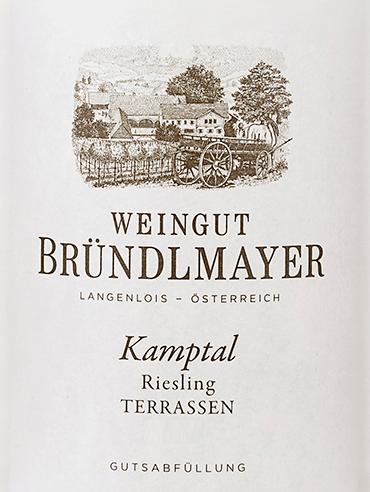 Riesling Kamptal Terrassen 2019 - Bründlmayer von Weingut Bründlmayer