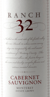 Preview: Ranch 32 Cabernet Sauvignon 2014 - Scheid Vineyards