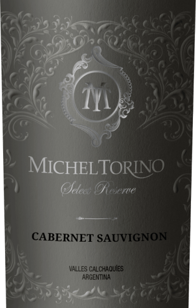 Michel Torino's Select Reserve Cabernet Sauvignon shines in a vibrant ruby red with violet reflections. The bouquet reveals spicy aromas of pepper, freshly ground pepper and nuances of smoke and tobacco. The palate is pampered by an elegant, full-bodied character with notes of dark berry fruit, juicy cherries and white pepper. This Argentine red wine impresses with its fascinating complexity and mature tannin structure. Vinification of Torino Cabernet Sauvignon Select Reserve The Cabernet Sauvignon grapes are carefully picked by hand in April. This red wine from Salta gains in particular its smoky aromas and tobacco notes by ageing in barriques. A total of 70% of Don David Cabernet Sauvignon is being developed in wood. Of these, 60% mature in American oak and 40% in French oak. Food recommendation for the Select Reserve Cabernet Sauvignon Torino This dry red wine is a great accompaniment to Mediterranean starter cuisine, such as tomato soup alla caprese, roast suckling pig with fennel rosemary vegetables or with savoury cheese specialities. Awards for Cabernet Sauvignon Torino Select Reserve Robert M. Parker. 87 points for 2015 Frankfurt Winetrophy: Silver Medal for 2015
