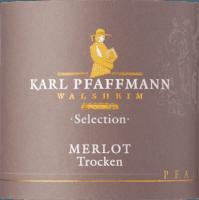 Preview: Merlot Selection trocken 2015 - Karl Pfaffmann