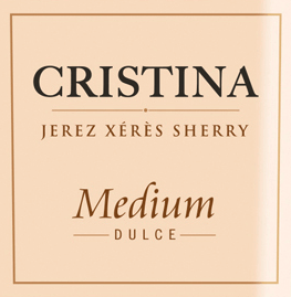 The Cristina Medium from González Byass is a wonderful, velvety sherry from the Spanish DO Jerez wine region, vinified from Palomino Fino (87%) and Pedro Ximenez (13%) grape varieties. In the glass, this sherry shines in a warm amber color with golden highlights. The intense and aromatic bouquet reveals intense notes of spices, dried figs and raisins, as well as subtle nuances of oak wort. On the palate, this sherry is velvety soft and full-bodied with a fine and fruity sweetness. The long reverberation is extremely aromatic. Vinification of González Byass Cristina Medium The grapes are harvested separately and fermented separately in stainless steel tanks. The subsequent 6-year maturity in the Soleras is also carried out separately. Only after this ripening period will the two grape varieties be married to each other and placed in the Christina-Solera for another 2 years. After a total of 8 years of maturity, this wonderful sherry is filled onto the bottle. Only 600 litres of American oak barrels are used. Food recommendation for the González Byass Cristina Medium Enjoy this lovely sherry with small nut snacks, all kinds of pies or even with spicy cheese plates with, for example, blue cheese, Epoisses or Munster.
