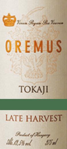 Tokaji Late Harvest Spätlese 0,5 l 2016 - Tokaj Oremus von Tokaj Oremus