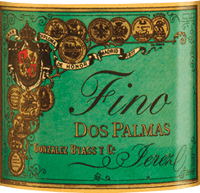 Preview: Dos Palmas Fino 0,5 l - Gonzalez Byass