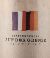 Preview: Auf der Grenze Spätburgunder 2016 - Bernhart