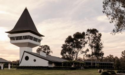 Das Gutshaus von Mitchelton Wines