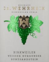 Preview: Birkweiler Weißer Burgunder Bundsandstein 2019 - Dr. Wehrheim