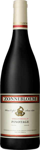 The pinotage of sunflower sparkles in the glass in a ruby red, which is crossed by a violet shimmer. Elegant aromas of cherry liqueur and dark fruits, such as plum, flatter the nose and combine with undertones of mocha chocolate and woody spice. Cherry and mocha aromas, refined by a delicate woody spice, unfold on the body-rich, balanced palate of the sunflower pinotage. Fruit and strong, round tannins are excellently integrated and ensure a long and lasting finish. This red wine from Stellenbosch, South Africa, is perfectly balanced and harmonious. Vinification for sunflower Pinotage 45% of this varietal wine is aged in steel tanks and 55% in French, American and Hungarian oak wooden barrels. Food recommendation for the sunflower Pinotage Enjoy this dry red wine either solo or with dishes with dark meat, lamb leg, pasta with mushrooms or with chocolate desserts. Awards for the sunflower PinotageIWSC 2017: Gold