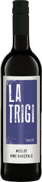 The Merlot of La Trigi reveals itself in the glass in a strong ruby red, while its fruity and spicy bouquet unfolds. This red wine is a Mediterranean temptation on the palate and delights in the finale with its spicy and fruity notes. Food recommendation for La Trigi Merlot Enjoy this dry red wine with pasta, grilled meat and hard cheese.
