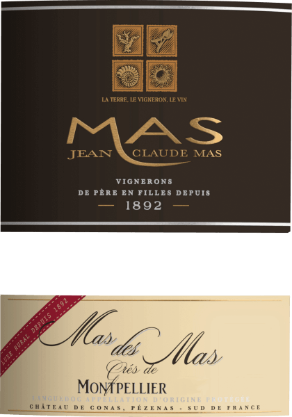 The powerful Mas des Mas Grés de Montpellier from Les Domaines Paul Mas flows into the glass with dense crimson. If you pan the wine glass, this red wine reveals a high viscosity, which is evident in clear church windows at the glass edge. The nose of this Les Domaines Paul Mas red wine presents all kinds of blackberries, shade morals, blackcurrants, mulberries and plums. As if this were not already impressive, cocoa bean, cinnamon and black tea are added due to the ageing in the large wooden barrel. This dry red wine from Les Domaines Paul Mas is something for purists who like it absolutely dry. The Mas des Mas Grés de Montpellier is already quite close to this, since it was vinified with just 1 gram of residual sugar. On the tongue, this powerful red wine is characterized by an incredibly balanced texture. Due to its vibrant fruit acid, the Mas des Mas Grés de Montpellier is exceptionally fresh and lively on the palate. In the finish, this red wine from the wine-growing region delights the Languedoc with its remarkable length. Again, there are echoes of black cherry and plum. Vinification of Les Domaines Paul Mas Mas des Mas Grés de Montpellier The powerful Mas des Mas Grés de Montpellier from France is a cuvée made from Garnacha, Mourvèdre and Syrah grape varieties. Of course, the Mas des Mas Grés de Montpellier is also determined by more than just the soil of Coteaux du Languedoc. In the best sense of the word, this Frenchman can be described as wine of the Old World, which presents itself extraordinarily nobly. After the hand-picking, the grapes reach the winery in the fastest way. Here you will be sorted and carefully broken up. Fermentation is then carried out in large wood at controlled temperatures. After the fermentation is complete, the Mas des Mas Grés de Montpellier is aged for a few months in oak barrels. Food recommendation for Les Domaines Paul Mas Mas des Mas Grés de Montpellier Drink this red wine from France ideally tempered at 15 - 18°C as an acc
