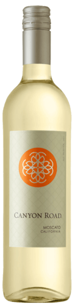 The Moscato of Canyon Road reveals itself in a delicate yellow in the glass and unfolds its breathtaking bouquet with the aromas of white fruits, melons and pears, as well as white flowers. This Californian white wine is gentle and round on the palate with a sweet residual sweetness. Food recommendation for the Moscato of Canyon Road Enjoy this sweet white wine with spicy Asian appetizers, spicy chicken with curry rice or strawberry cake.