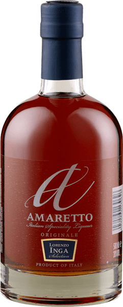 The Amaretto Originals by Lorenzo Inga delights with its delicate spicy and sweet aromas of almond and vanilla. This classic almond liqueur is sweet and soft on the palate with an eye-catching taste of marzipan. Caramel and black cherries are noticeable in the finish. Serving recommendation for the Amaretto Originals by Lorenzo Inga Enjoy this amaretto as an aperitif, with desserts or in cocktails and long drinks.