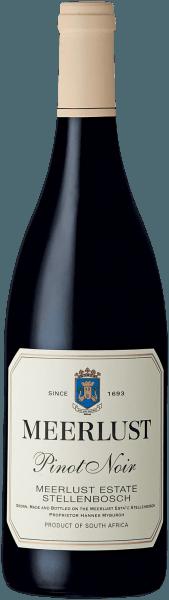 Meerlust Pinot Noir Wine of Origin Stellenbosch 2017 - Meerlust Wine Estate