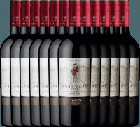 12er Vorteils-Weinpaket - Ribet Red Cabernet Sauvignon Merlot 2019 - Arrogant Frog