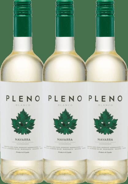 3er Vorteils-Weinpaket - Pleno Blanco DO 2019 - Bodegas Agronavarra