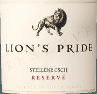 Preview: Lion's Pride Reserve Stellenbosch 2020 - KWV