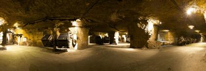 View of the Bouvet Ladubay cellar