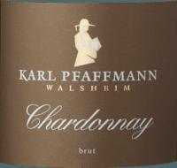Preview: Chardonnay Sekt brut 2018 - Karl Pfaffmann