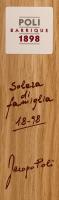 Preview: Poli Barrique Solera di famiglia Grappa in GP - Jacopo Poli