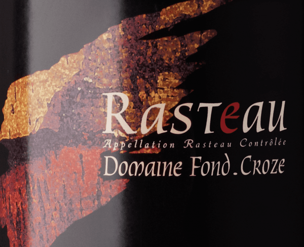 Rasteau AOC 2016 - Domaine Fond Croze von Domaine Fond Croze