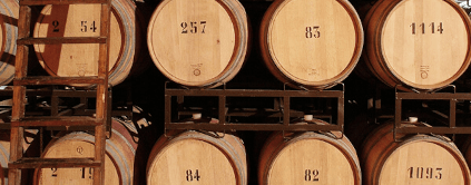 Wood aging is typical for high quality Italian wines