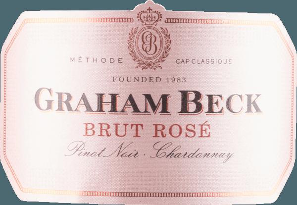 Cap Classique Brut Rosé - Graham Beck von Graham Beck Wines