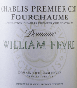 "Domaine William Fèvre's Chablis Premier Cru Fourchaume Domaine is a Burgundian white wine of the highest nobility. The glass reveals a very aromatic bouquet with fruity and floral notes and typical mineral tones in the background. On the palate very elegant, powerful, racy and harmonious with well-balanced acidity. Long, harmonious reverberation. A Premier Cru Chablis with the power of a Grand Cru! Vinification of the Chablis Premier Cru The Domaine William Fèvre is considered to be the best of all Chablis vineyards. William Fèvre's oenologist-in-chief William Fèvre has made it his task to let the wine ""speak"" through his terroir. The wines impress with their typical terroir and varietal minerality and finesse. The Chardonnay grapes for this Chablis Premier Cru are cultivated in the Domaine's Premier Cru-Lage Fourchaume and are harvested by hand in order to produce only the best grapes. After selective harvesting, the grapes are gently pressed, fermented and aged at a controlled temperature. The wine matures for 13 to 14 months, 40 to 50% of the vintage in used wooden barrels made of French oak, the rest of the must in stainless steel tanks. 5 to 6 months the wine remains in the wooden barrels on the fine yeast (sur lie). The wine is aged in small stainless steel tanks for the finished wine. Best food recommendation for the Chablis Premier Cru Fourchaume by Domaine William Fèvre This gorgeous French Chablis Premier Cru goes well with fish and shellfish, seafood and sea fish, poultry and white meat, grilled or with sauces. It is the ideal wine for chicken of Bresse with tarragon sauce, onions and garlic. Awards The Wine Advocat Robert Parker: 90-92 points for 2015"