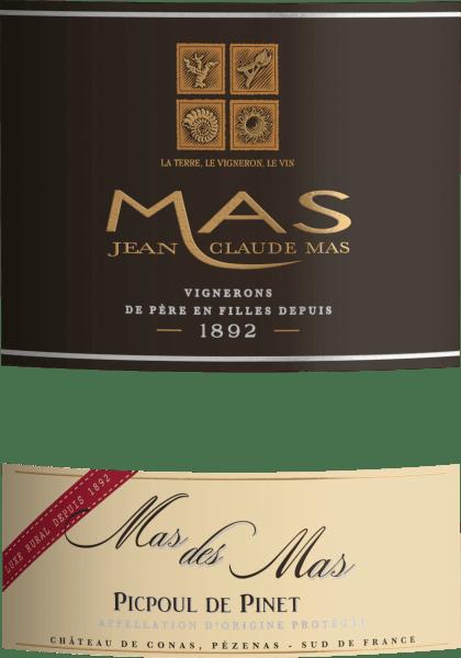 Mas des Mas Picpoul de Pinet AOC 2018 - Les Domaines Paul Mas von Domaine Paul Mas