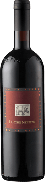 The Langhe Nebbiolo DOC by La Spinetta presents itself with a dark, almost black ruby red in the glass and reveals its expressive bouquet. The aromas of plums, blackcurrant and blueberries meet. These notes are accompanied by a hint of peppermint. This red wine from Piedmont is full-bodied and juicy with an elegant finish. A wine with a good acidity structure and fresh, noble tannins. Vinification for the Langhe Nebbiolo DOC of La Spinetta This red wine made from 100% Nebbiolo was subjected to alcoholic fermentation in a Rotofermenter for 7-8 days, the malolactic fermentation took place in oak wood. The Langhe Nebbiolo was aged in French oak barrels for 12 months, then for 2 months in stainless steel tanks and then matured in the bottle for a further 12 months. Before bottling, this wine was not filtered or clarified. Food recommendation for the Langhe Nebbiolo DOC of La Spinetta Enjoy this dry red wine with tender pork and beef dishes, cooked meat and pan dishes or mild cheese. Awards for Langhe Nebbiolo DOC from La Spinetta Robert Parker / The Wine Advocate: 90+ points (vintage 2012) Vinous - Antonio Galloni: 90 points (vintage 2010) Gambero Rosso: 1 glass (vintage 2010)