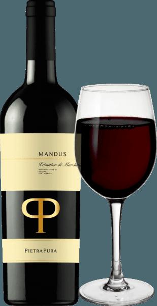 Mandus Primitivo di Manduria DOC 2018 - Pietra Pura von Pietra Pura