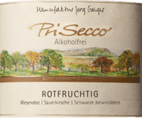 Preview: PriSecco rotfruchtig - Manufaktur Jörg Geiger