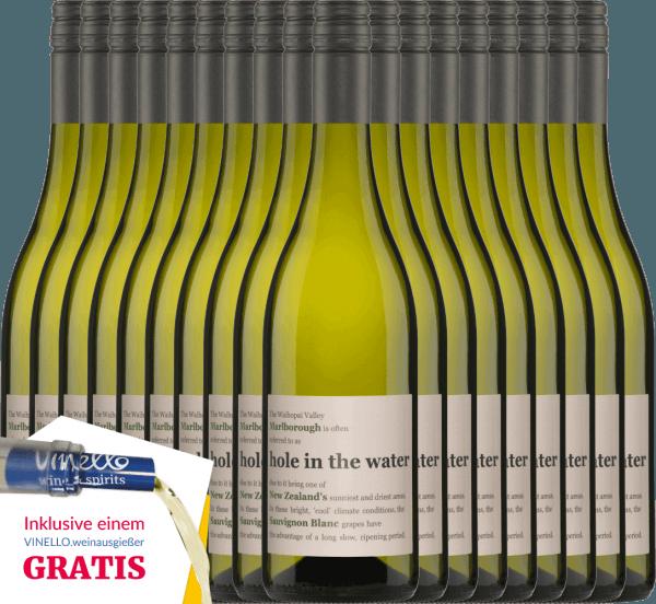 18er Vorteils-Weinpaket - Hole in the Water Sauvignon Blanc 2019 - Konrad Wines von Konrad Wines