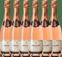 Preview: 6er Vorteils-Weinpaket - Crémant Brut Rosé Excellence - Bouvet Ladubay