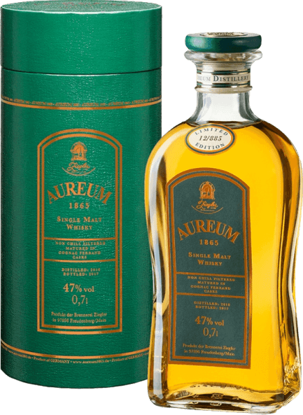 Aureum 1865 Cognac Ferrand Single Malt Whisky 0,7l - Ziegler
