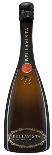 In the glass, the La Scala Vendemmia Brut Franciacorta by Bellavista presents a brilliantly shimmering golden yellow colour. The pearl play of this spumante is extremely fine, elegant and long-lasting in the glass. The colour of this white wine also shows reflexes in the core. If you give him some air by swivelling, this spumante is characterized by a fascinating lightness, which makes him dance energetically in the glass. This Italian cuvée flatters in the glass wonderfully elegant and complex notes of plum, honeysuckle, pears and nashi pears. In addition, there are hints of walnut, whole nut chocolate and crispy. This Italian wine impresses with its elegantly dry taste. It was bottled with exceptionally little residual sugar. This is a real quality wine that stands out clearly from simpler qualities and so this Italian naturally enchants with the finest balance in all dryness. Taste does not necessarily require residual sugar. On the tongue, this light-footed spumante features an incredibly dense, melty, creamy, silky and crispy texture. In the finish, this spumante from the Lombardy wine-growing region ultimately inspires with exceptional length. Again there are hints of pink grapefruit and lily. In the reverberation, mineral notes of the soils dominated by limestone and gravel are added. Vinification of Bellavista La Scala Vendemmia Brut Franciacorta The elegant La Scala Vendemmia Brut Franciacorta from Italy is a cuvée vinified from the Chardonnay and Pinot Noir grape varieties. The grapes grow under optimal conditions in Lombardy. Here the vines dig their roots deep into soils of limestone and gravel. La Scala Vendemmia Brut Franciacorta is an old world wine throughout, because this Italian exudes an extraordinary European charm that clearly underlines the success of wines from the old world. When the perfect physiological maturity is ensured, the grapes for the La Scala Vendemmia Brut Franciacorta are harvested exclusively by hand without the help of coarse a