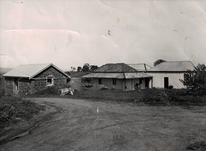 Die Bauernhäuser am Anfang der Gutsgeschichte