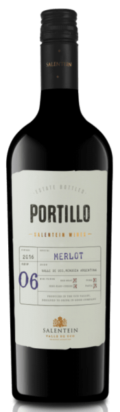 The Merlot of Portillo appears in a dense red in the glass and reveals the aromas of red and dark forest fruits, accompanied by a hint of pepper. This Argentinian merlot is gentle and harmonious on the palate. With a pronounced fruitiness and silky tannins, this wine ends in a long finish. Food recommendation for Portillo Merlot Enjoy this dry red wine with pork, red meat, pasta or hard cheese.