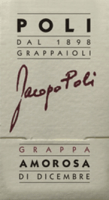 Preview: Amorosa di Dicembre Grappa 0,5 l - Jacopo Poli