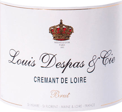 The Crémant de Loire by Louis Despas from Bouvet is a full-bodied and fresh sparkling wine from the Chenin Blanc (80%) and Chardonnay (20%) grapes. This sparkling wine appears pale golden to amber with a very fine, persistently rising perlage in the glass. The fruity aromatic bouquet offers delicate hints of fragrant brioche and honey notes. Full-bodied and fresh on the palate, this delicate Crémant de Loire presents itself with good texture and excellent balance. Fineness and durable length characterize the reverberation. Vinification of Louis Despas Crémant de Loire Only the best grape varieties grown in the Maine-Loire areas approved for the Crémant are selected. The base wines are produced separately. After gentle pressing and the first alcoholic fermentation of the base wines in stainless steel tanks, they are very gently pre-clarified by cold sedimentation and then ground into a cuvée before they are filled onto the bottle for the second fermentation according to the traditional method. This Crémant then matures for many months in the underground chalk limestone cellars of the Abbey of Saint Hilaire - Saint Florent. Food recommendation for the Crémant de Loire Louis Despas Enjoy this very balanced French Crémant de Loire as an elegant aperitif, but also as a refined accompaniment to individual courses or a whole meal with fine appetizers, fish and poultry dishes or cold roasts, with mild cheeses or fruity desserts.