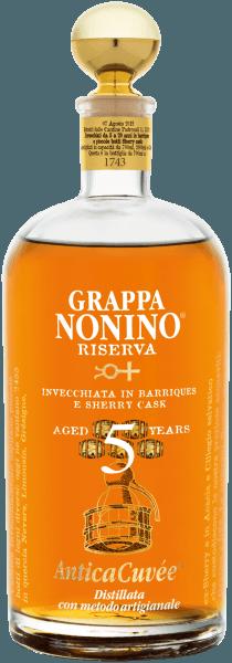 Grappa Riserva Antica Cuvée 5 Years - Nonino Distillatori