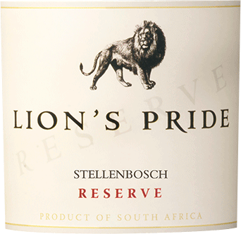The Lion's Pride Reserve StellenboschfromKWVsparkles in a dense garnet red in the glass. Its unique scent of ripe berry aromas (blackcurrants, raspberries, blueberries) and cherries, accompanied by sweet caramel, bitter chocolate and sweet-herb cinnamon fills the nose. On the palate, this South African looks opulent and full-bodied with the powerful, concentrated fruit of the bouquet and supple, ripe tannins. The structure is enormously silky and at the same time taut. An elegant and long finish completes it. Vinification for the Lion's Pride Reserve Stellenbosch This drop is composed of 52% Cabernet Sauvignon, 36% Merlot and 12% Shiraz and matured for 12 months in American oak barrels. It is full of power, elegance and suppleness and enjoys a high reputation among its peers. All those attributes that also identify the lion depicted on the label. Food recommendation for the Lion's Pride Reserve Enjoy this red wine from South Africa with game birds, grilled meat, roasts and cheese.