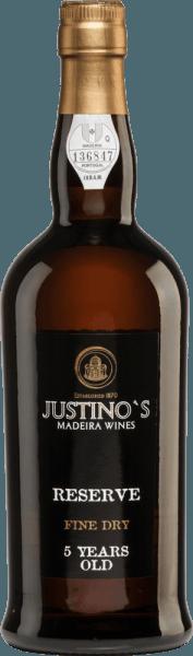 Reserve Fine Dry 5 Years Old - Vinhos Justino Henriques von Vinhos Justino Henriques