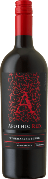 The goal of the winemakers behind Apothic Wines is to create wines with character, which at the same time appeal to a broad mass. For this purpose, vintner Debbie Juergenson relies on the peculiarities of the single sorts of grape, which are included in the Apothic wines. So, today, they have created the extraordinary cuvees Apothic Red and Dark, one fruity, the other rather tart. The gothic charm of the labels, which alludes to the dark, mysterious Middle Ages, gives the wines another unique selling point. An ideal companion for a historical evening or the next scary movie! The Apothic Red from Apothic Wines in California offers a bright, crimson red color when poured into a glass. Poured into a red wine glass, this red wine from the USA offers wonderfully fragrant aromas of black cherry, mulberry, plum and blueberry, rounded off by cinnamon, vanilla and oriental spices. The Apothic Wines Apothic Red shows us an incredibly fruit-driven palate, which is not without reason due to its residual sweetness flavor profile. On the tongue, this balanced red wine is characterized by an incredibly dense texture. Due to its balanced fruit acidity, the Apothic Red flatters the palate with a velvety feel without lacking freshness at the same time. The finale of this youthful red wine from the wine-growing region of California finally convinces with a good reverberation. Vinification of the Apothic Wines Apothic Red The balanced Apothic Red from the USA is a cuvée, made from the grape varieties Cabernet Sauvignon, Merlot, Primitivo and Shiraz. After the hand harvest, the grapes are immediately taken to the winery. Here they are selected and carefully broken up. Fermentation follows in stainless steel tanks at controlled temperatures. Once fermentation is complete, the Apothic Red can continue to harmonize on the fine lees for a few months. Food recommendation for Apothic Wines Apothic Red This US red wine is best enjoyed at a temperate 15 - 18°C. It is perfect as an accompaniment