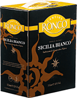 Sicilia Bianco 3,0 l Bag in Box Weinschlauch - Ronco