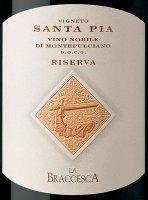 Preview: Santa Pia Vino Nobile di Montepulciano Riserva DOCG 2016 - La Braccesca