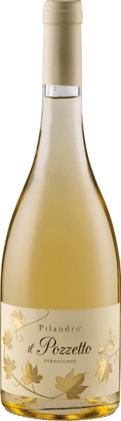 The Il Pozzetto Verdicchio Jesi Classico DOC by Azienda Agricola Pilandro shines golden yellow in the glass and delights with its fresh bouquet, which reveals the aromas of yellow and tropical fruits. These fruit notes are rounded off by herbaceous nuances. On the palate, this Trebbiano starts sweet. This first impression is followed by delicate meadow herbs and a lively acidity, which gives this white wine its tension and freshness. Vinification of Pilandro Il Pozzetto The grapes for this pure white wine are picked by hand and then gently pressed. This is followed by temperature-controlled fermentation in stainless steel tanks, followed by refinement in the bottle after bottling. Food recommendation for Pilandro Il Pozzetto Enjoy this dry white wine with summer salads, fish, grilled poultry or pasta.
