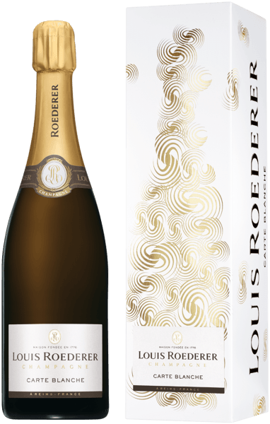 Roederer Carte Blanche in Geschenkverpackung- Champagne Louis Roederer