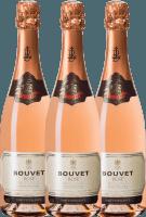 3er Vorteils-Weinpaket - Crémant Brut Rosé Excellence - Bouvet Ladubay