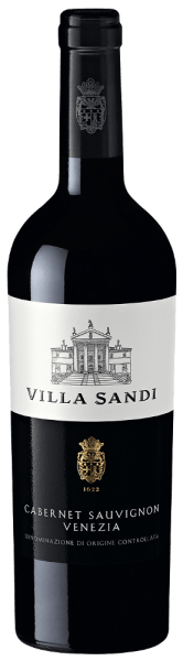The Cabernet Sauvignon Venezia from the Veneto wine-growing region presents itself in the glass in brilliantly shimmering crimson. The bouquet of this red wine from Veneto captivates with notes of mulberry, blackcurrant, blackberry and blueberry. If we continue to feel the aroma, juniper, forest soil and Mediterranean herbs are added. This red wine from Villa Sandi is for wine drinkers who like it absolutely dry. The Cabernet Sauvignon Venezia is already quite close to this, since it was only bottled with 2 grams of residual sugar. On the tongue, this light-footed red wine is characterized by an extremely dense texture. Due to the balanced fruit acid, the Cabernet Sauvignon Venezia flatters the palate with a soft feeling without letting it miss freshness at the same time. The finale of this maturable red wine from the Veneto wine-growing region captivates with remarkable reverberation. Vinification of the Cabernet Sauvignon Venezia by Villa Sandi This red wine clearly focuses on one grape variety, Cabernet Sauvignon. Only impeccable harvests were harvested for this exceptionally elegant varietal wine from Villa Sandi. After the hand-picking, the grapes quickly reach the winery. Here you are sorted and carefully ground. Fermentation is then carried out in a stainless steel tank at controlled temperatures. The fermentation is followed by ageing for a few months on the fine yeast before the wine is finally bottled. Food recommendation for the Cabernet Sauvignon Venezia of Villa Sandi This Italian should best be enjoyed at a temperature of 15 - 18°C. It is perfect as an accompanying wine with duck breast with sugar pods, vegetable couscous with beef meatballs or goose breast with ginger red cabbage and marjoram.