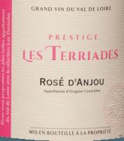Preview: Rosé d'Anjou Les Terriades AOC 2020 - Les Caves de la Loire